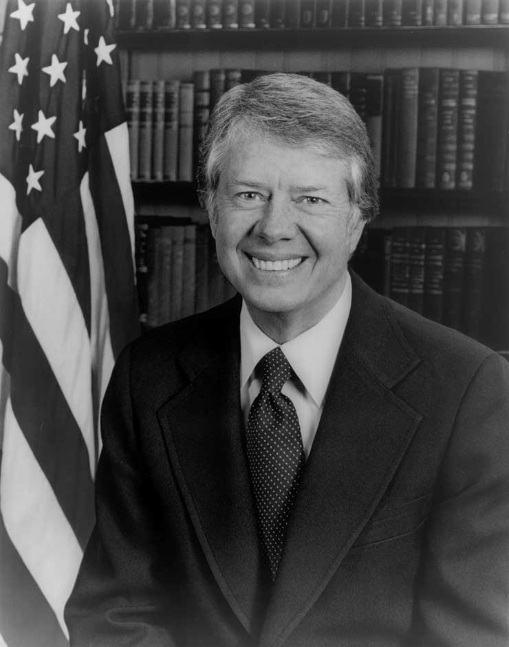 a biography of jimmy carter 39th president of the united states of america Bridging the gap between the often-maligned gerald ford and the drug-busting ronald reagan was jimmy carter, the 39th president of the united states and one of the most esteemed humanitarians ever.