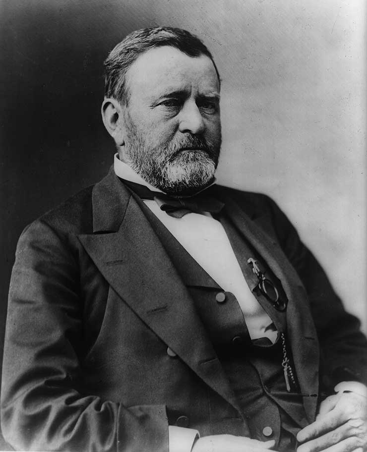a biography of ulysses s grant an american general and president of the united states of america
