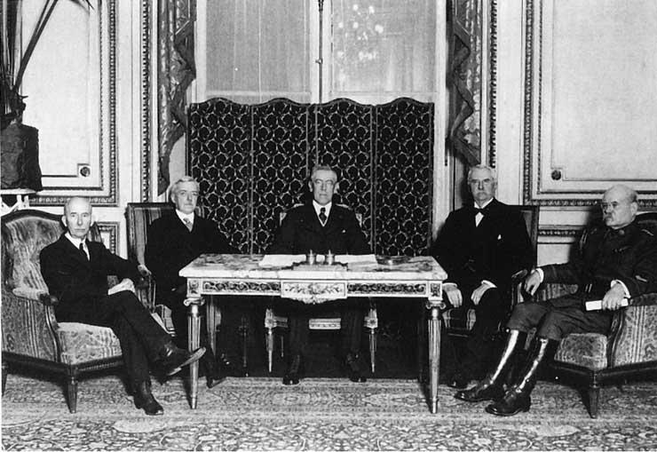 woodrow wilson and the treaty of versailles