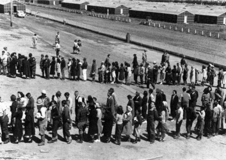 an analysis of the japanese internment during world war two Japanese american internment during world war ii public through the analysis of political of japanese americans, during world war ii.